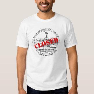 2013 Government Shutdown Vacation - Gettysburg Shirt