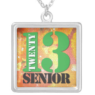 2013 Graduation Senior Necklace