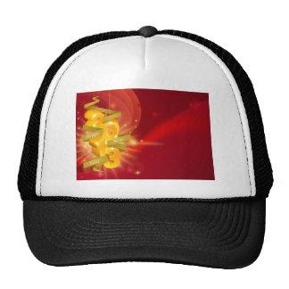 2013 Happy New Year Decorations Trucker Hats