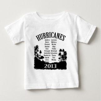 2013 HURRICANE list Baby T-Shirt