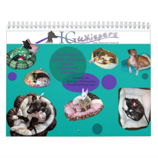 2013 IGWhisper's Italian Greyhound Calendar 2