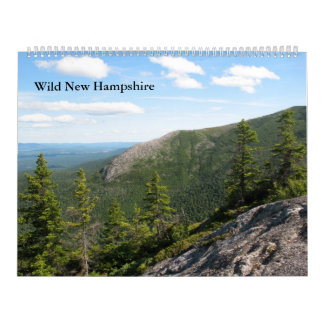 2013 Large Wild New Hampshire Wall Calendar