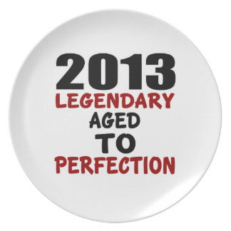 2013 LEGENDARY AGED TO PERFECTION PLATE