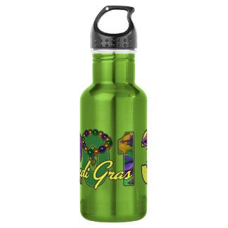 2013 Mardi Gras New Orleans Word Art 532 Ml Water Bottle