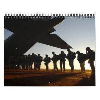 2013 Military Silhouettes Calendars