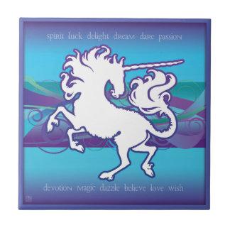 2013 Mink Nest Inspirational Unicorn 4.25 Tile