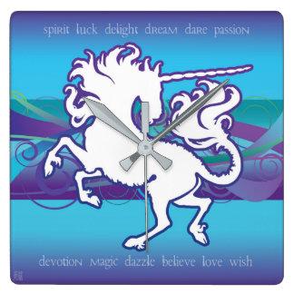 2013 Mink Nest Inspirational Unicorn Clock