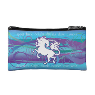 2013 Mink Nest Inspirational Unicorn Sm Cosm. Bag