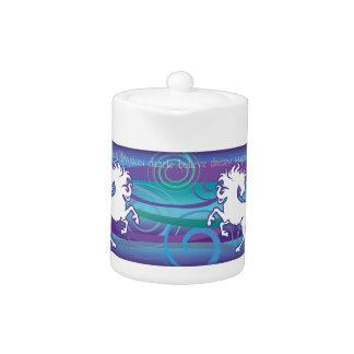 2013 Mink Nest Inspirational Unicorn Sm Teapot