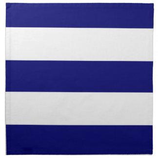 2013 New Navy Blue & White Stripe Cloth Napkins