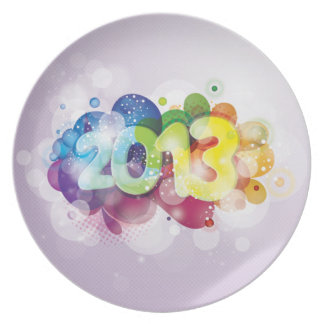 2013  New Year Plates