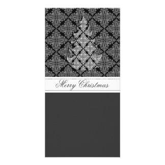 2013 Ornate Luxury  Christmas Tree Photo Cards