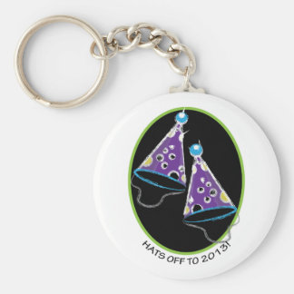 2013 Party Hat Key Chain