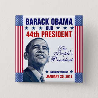 2013 Presidential Inauguration 15 Cm Square Badge