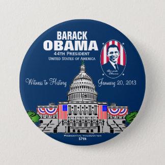 2013 Presidential Inauguration 7.5 Cm Round Badge