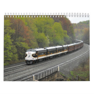 2013 Trains of Pennsylvania Calendar