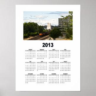 2013 - Urban Wall Calendar #1 Poster