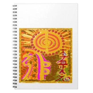 2013 ver. REIKI Healing Symbols Note Books
