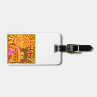 2013 ver. REIKI Healing Symbols Tag For Luggage