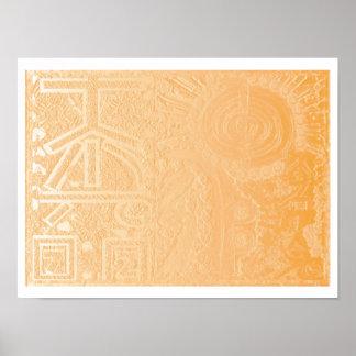 2013 ver. REIKI on Gold Foil Poster