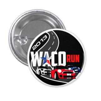 2013 Waco Run 3 Cm Round Badge