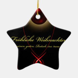 20141003-Licht and energy merry Christmas Ceramic Ornament