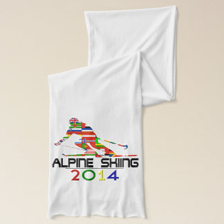 2014: Alpine Skiing Scarf