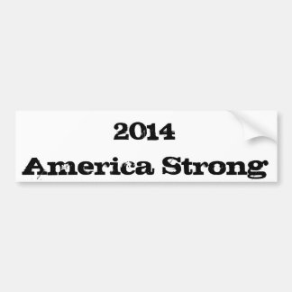2014 America Strong Bumper Stickers