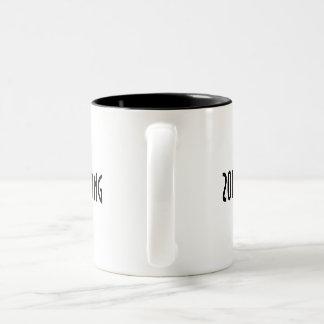 2014 America Strong Two-Tone Coffee Mug. Two-Tone Coffee Mug