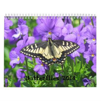 2014 Butterfly Calendar