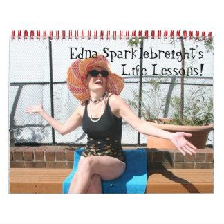 2014 Calendar: Edna Sparklebreight's Life Lessons! Calendars