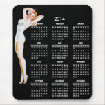 2014 Calendar with Vintage Pin-Up Girl