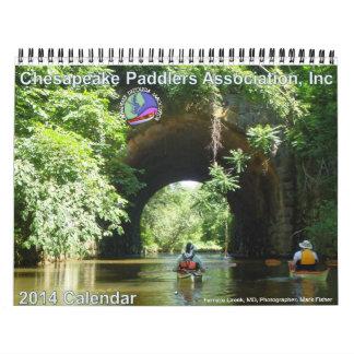 2014 Chesapeake Paddlers Association Calendar
