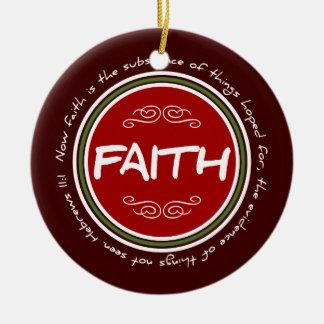 2014 Christmas Holiday Faith Bible Verse Ornament