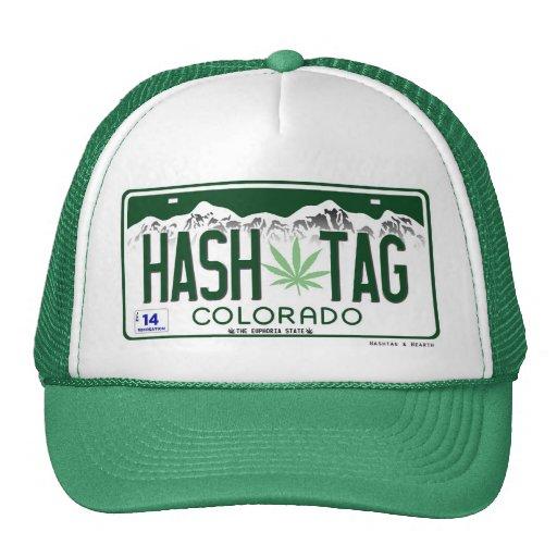 2014 Commemorative Colorado Hash Tag Hat