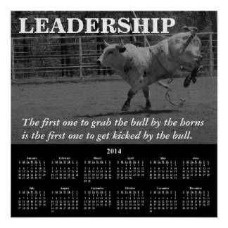2014 Demotivational Calendar Leadership Posters