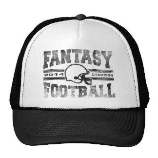 2014 Fantasy Football Champion Helmet Champ Washed Cap