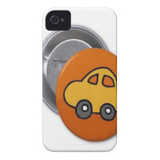 2014 GIFTS : MINI TOY CAR Button iPhone 4 Covers