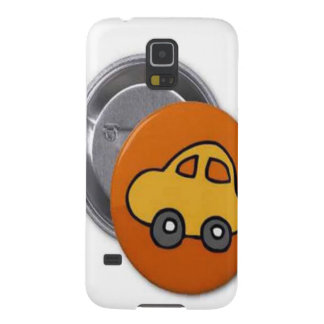 2014 GIFTS : MINI TOY CAR Button Galaxy S5 Covers