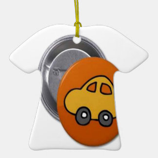 2014 GIFTS : MINI TOY CAR Button Ornament