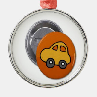 2014 GIFTS : MINI TOY CAR Button Christmas Ornament