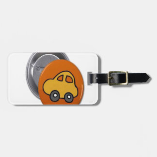 2014 GIFTS : MINI TOY CAR Button Luggage Tags
