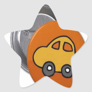 2014 GIFTS : MINI TOY CAR Button Stickers
