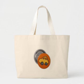 2014 GIFTS : MINI TOY CAR Button Canvas Bag