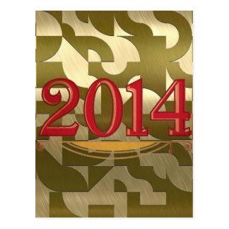 2014 golden post card