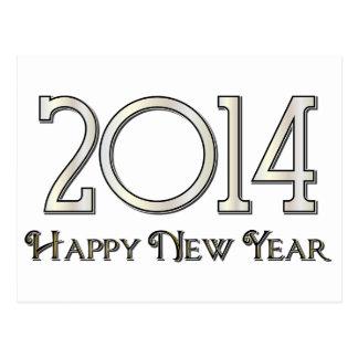 2014 Happy New Year Postcard