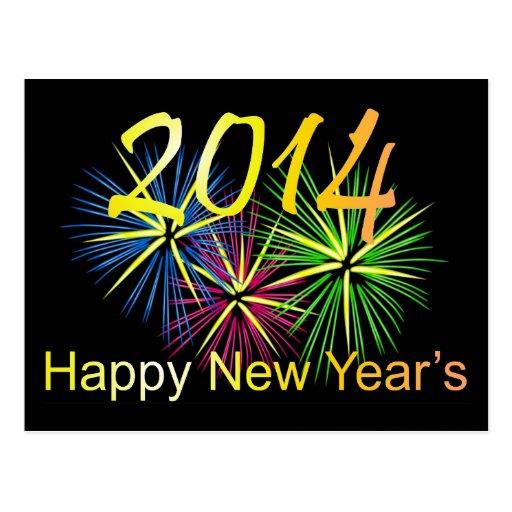2014 Happy New Year's Postcard