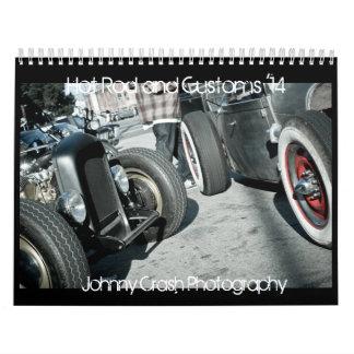 2014 Hot Rod and Custom Calendar