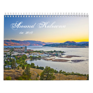 2014 in the Okanagan Wall Calendars