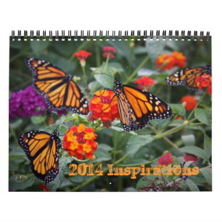 2014 Inspirations Calendar - Butterflies